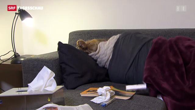 Grippe-Epidemie hält an