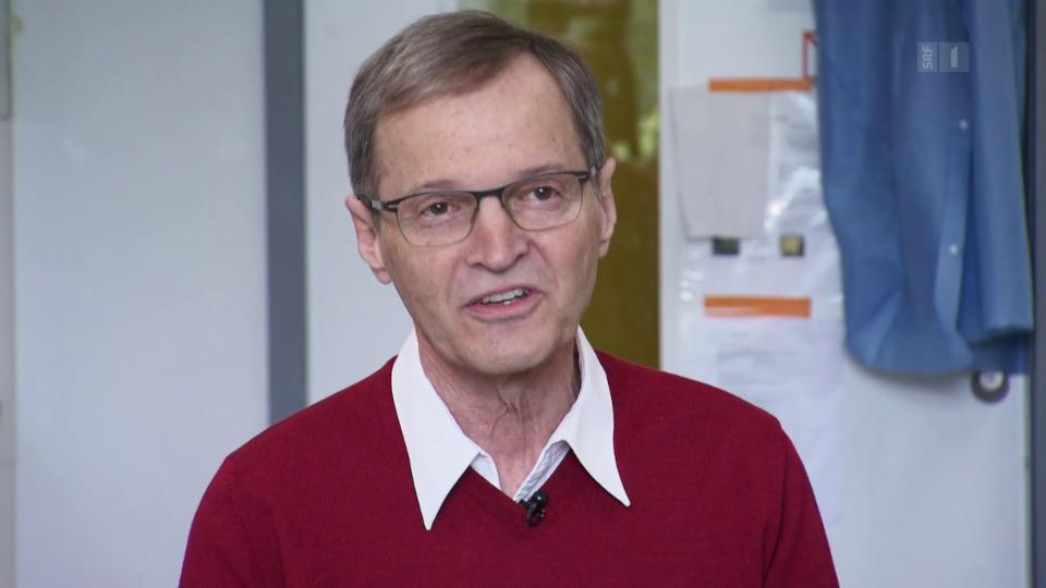 Daniel Speiser, Impfstoff-Experte der Covid19-Taskforce: «Allzu viel darf man nicht erwarten.»