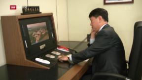 Video «Annäherung zwischen Nord- und Südkorea» abspielen