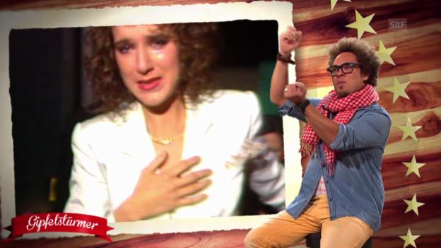 Video «Webvorschau: Tränen bei Celine Dion» abspielen
