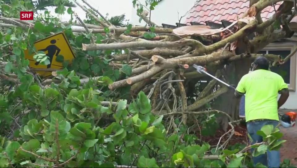 Hurrikan versetzt USA in Angst und Schrecken