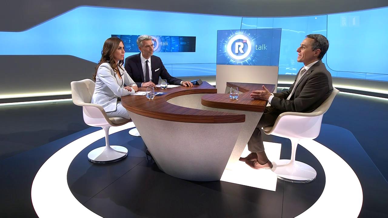 «Rundschau talk» mit Ignazio Cassis