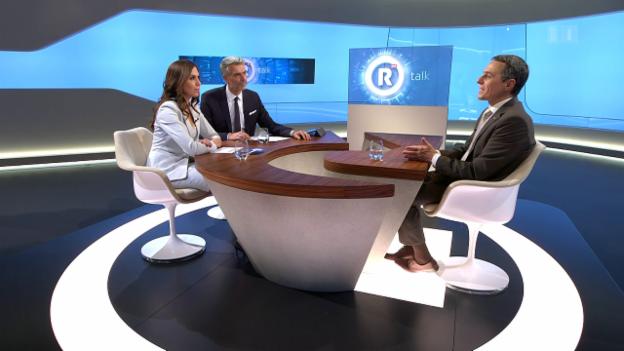 Video ««Rundschau talk» mit Ignazio Cassis» abspielen