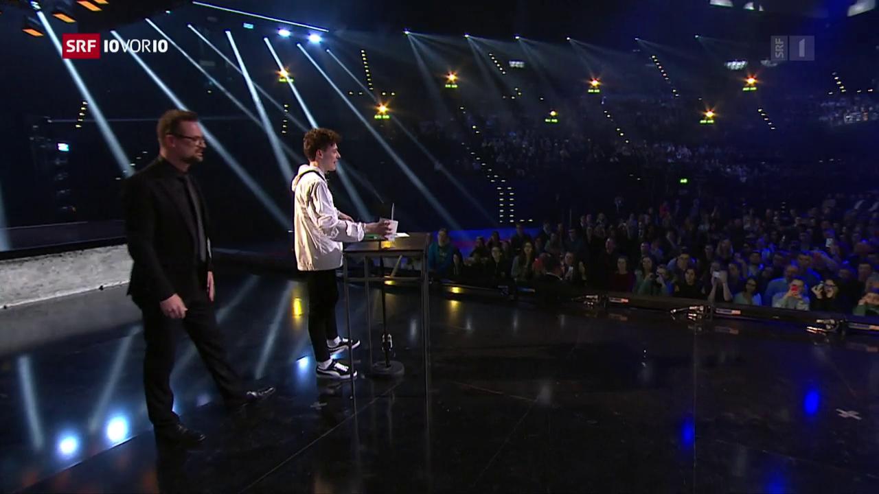 «Nemo»: Der grosse Gewinner der Swiss Music Awards