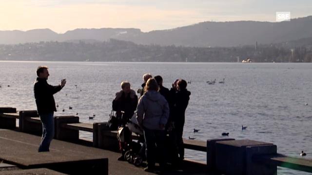 Frühlingswetter an Heiligabend (Tagesschau, 24.12.2012)