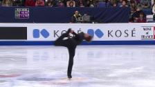 Link öffnet eine Lightbox. Video Eiskunstlauf-WM: Das Kurzprogramm von Stéphane Walker abspielen