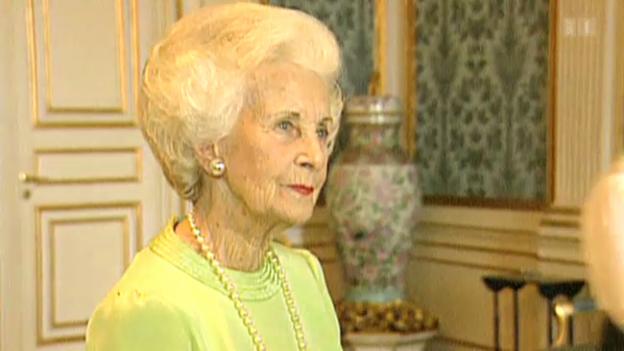Video «Schwedische Prinzessin Lilian mit 97 Jahren gestorben» abspielen