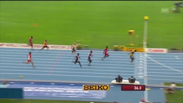 Video «4x100 m Männer («sportlive»)» abspielen