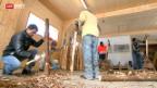Video «Bündner Militär-Bunker beherbergt Asylbewerber» abspielen