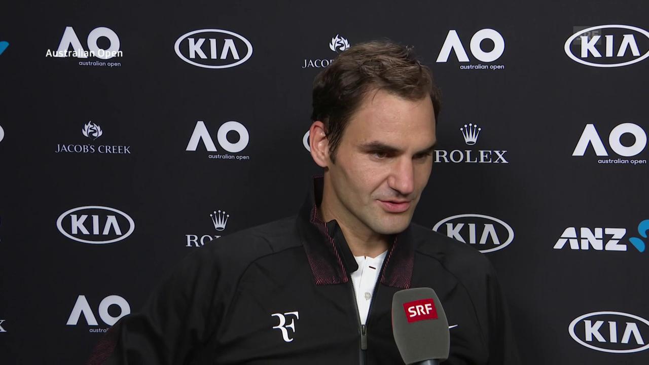 Federer: «Ich war recht häufig zu spät»