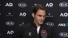 Link öffnet eine Lightbox. Video Federer: «Ich war recht häufig zu spät» abspielen