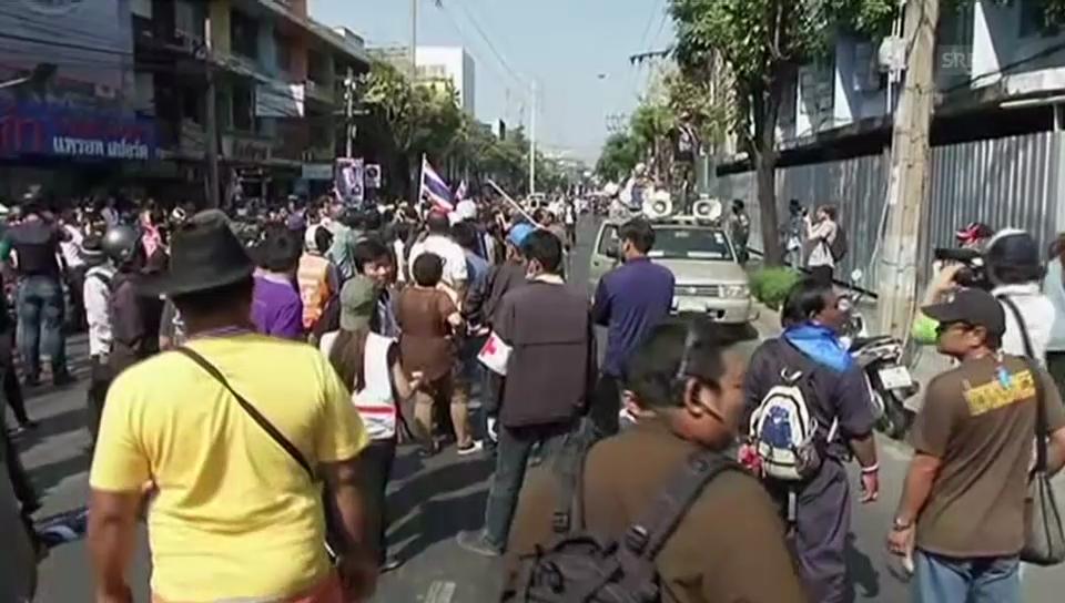 Thailand: Explosion bei Protestmarsch (unkomm.)