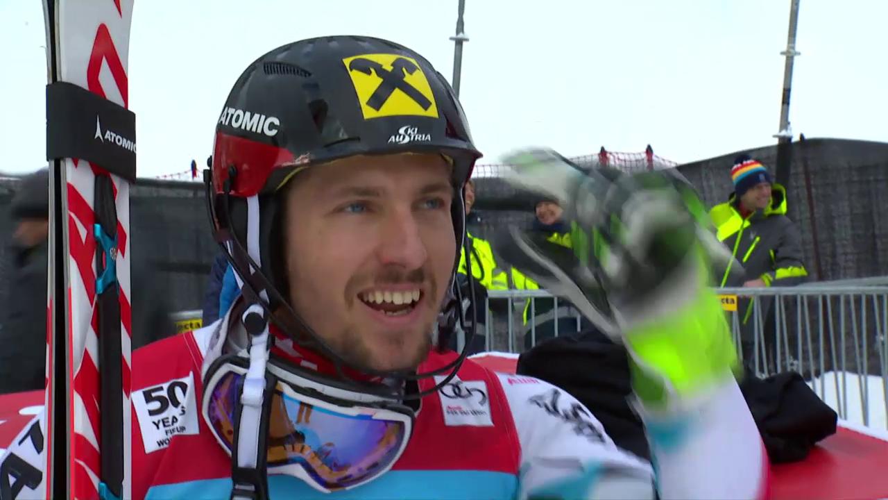 Zusammenfassung Slalom Wengen