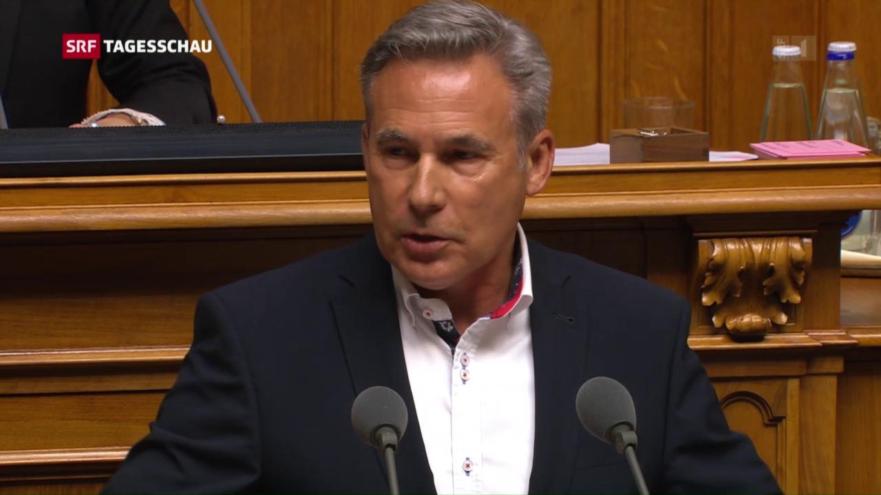 Gehässige Eintretensdebatte im Nationalrat
