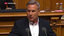 Video «Gehässige Eintretensdebatte im Nationalrat» abspielen