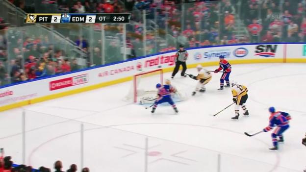 Video «Penguins-Goalie Fleury hext» abspielen