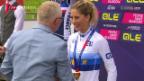 Video «Mountainbikerin Jolanda Neff holt EM-Gold» abspielen