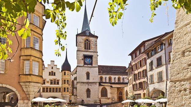 Glockengeläut der Stadtkirche in Biel