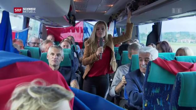 Video «Schweiz aktuell vom 19.09.2017» abspielen