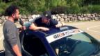 Video «Der Rasende Reporter: Ändu als Stuntman in filmreifen Szenen» abspielen