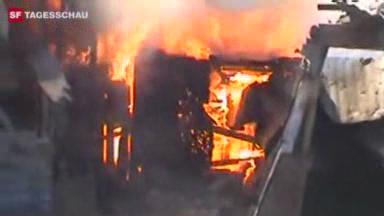 Video «Kenia 2008: Unruhen in Eldoret und Nairobi» abspielen
