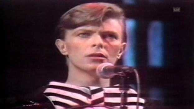 Video «David Bowie im Wandel der Zeit» abspielen
