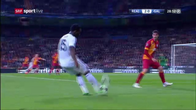 Fussball: Essiens Torvorlage gegen Galatasaray («sportlive»)