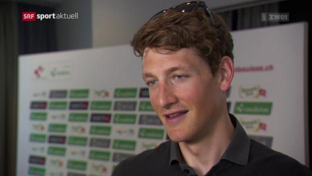 Video «Stefan Küng kann Tour de Suisse kaum erwarten» abspielen