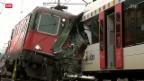 Video «Eisenbahnunglück in Neuhausen beim Rheinfall» abspielen