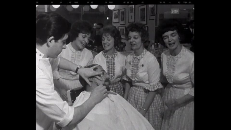 Archivperle: Unterhaltung beim Barbier