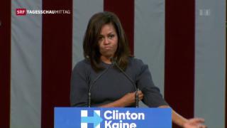 Video «Michelle Obama spricht ein Machtwort » abspielen