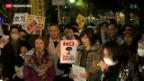 Video «AKW-Gegner in Japan verstummen nicht» abspielen