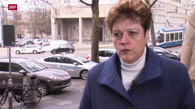 Video «Silvia Steiner zum Verdacht auf ungetreue Amtsführung» abspielen