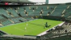 Video «Wimbledon wieder der Hotspot der Tennis-Welt» abspielen