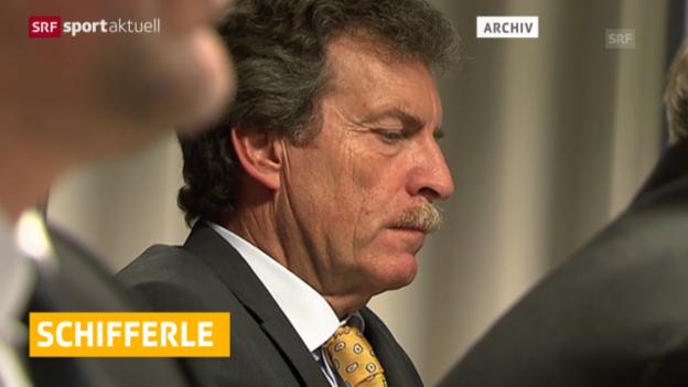 Video «Fussball: SFL-Präsident Schifferle wiedergewählt» abspielen