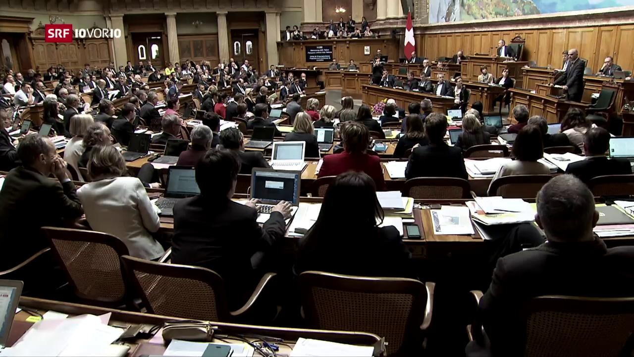Ist das Milizparlament ein Mythos?