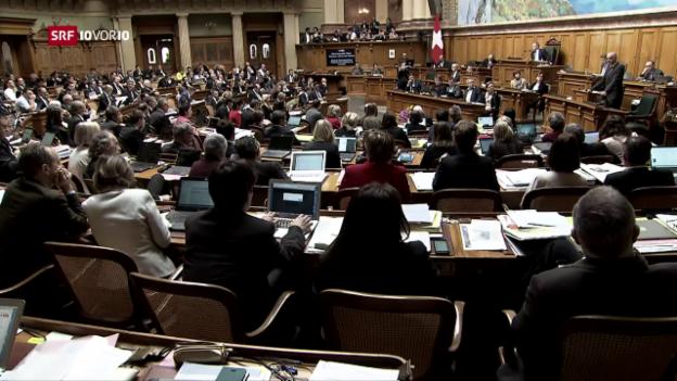 Video «Ist das Milizparlament ein Mythos?» abspielen