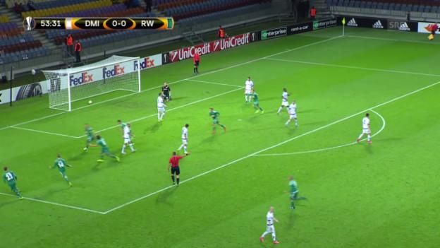 Video «Fussball: Europa League 2015/16, 2. Gruppenspiel, Die schönsten Tore» abspielen