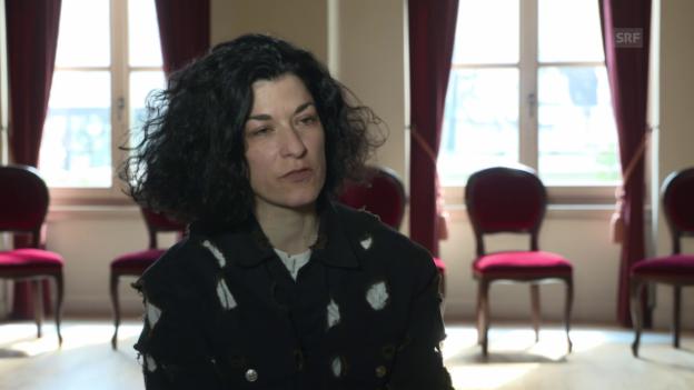 Video «Alexandra Bachzetsis über ihre Herkunft» abspielen