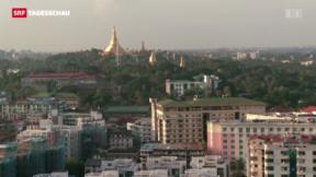 Video «Schweizer Engagment in Burma » abspielen