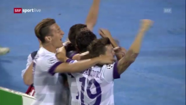 Video «Highlights Dinamo Zagreb - Austria Wien («sportlive»)» abspielen