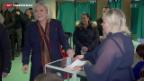 Video «Zweiter Wahlgang bei den französischen Regional-Wahlen» abspielen
