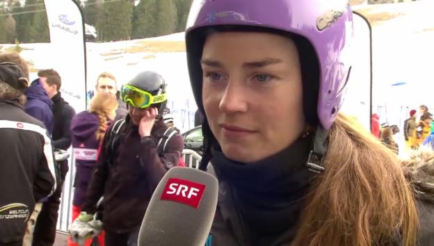 Video «Tina Maze über ihr Leben nach dem Sport» abspielen