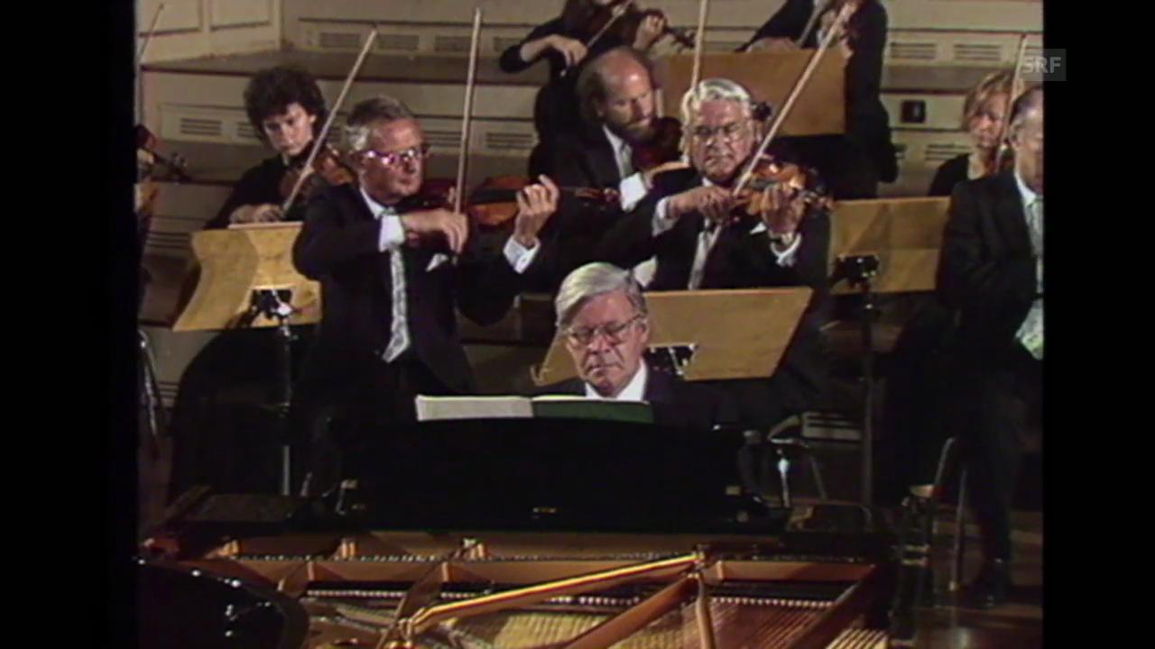 «Helmut Schmidt in der Tonhalle», Tagesschau, 11.7.1983