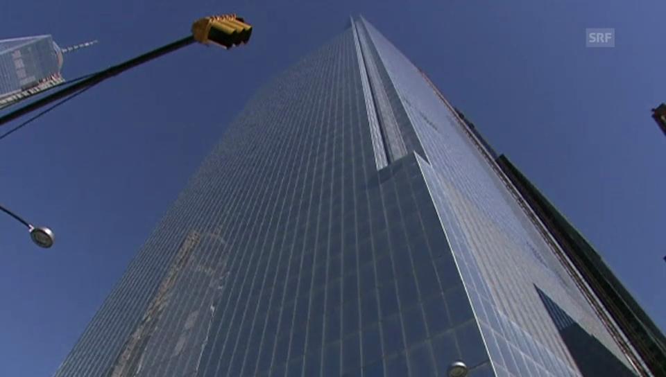 Einweihung World Trade Center (unkommentiert)