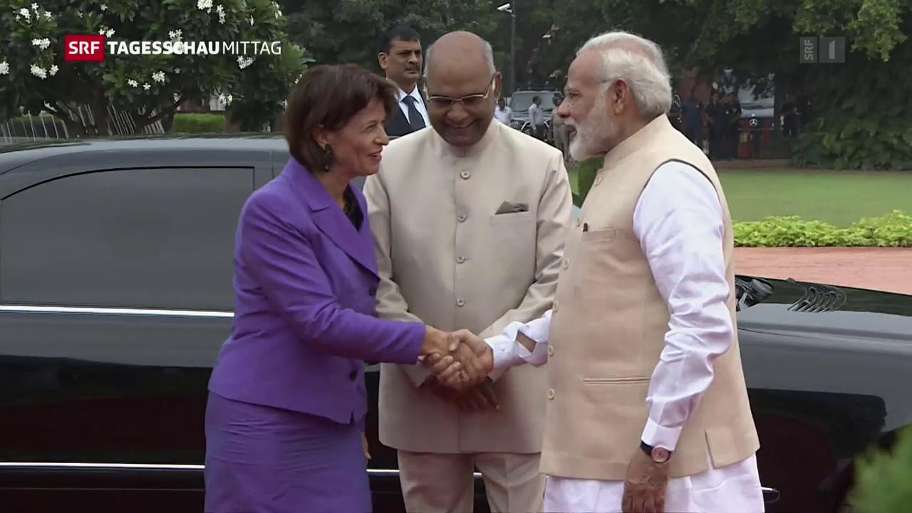 Leuthard in Indien