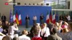 Video «Brexit-Krisengipfel in Berlin» abspielen