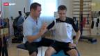 Video «Motorrad: Tom Lüthi in der Reha» abspielen