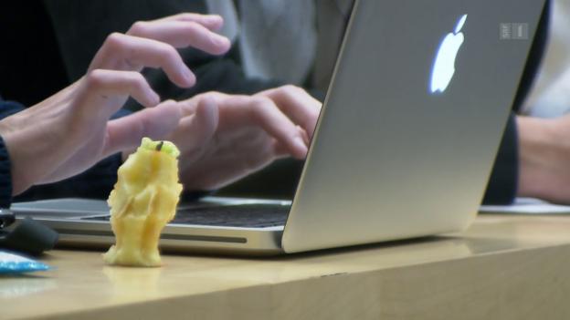 Video «Laptops behindern das Lernen» abspielen