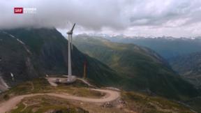 Video «Höchstgelegener Windpark » abspielen